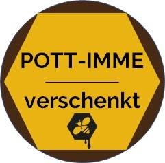 Pott-Imme verschenkt